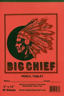 Big Chief Mohawk Tablet