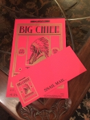 Big Chief Snail Mail Stationery