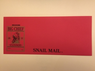 Big Chief Snail Mail Envelopes